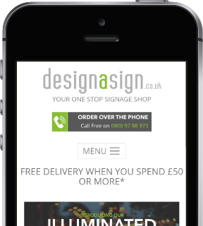 Design A Sign Mobile Image